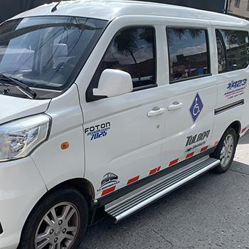 Transporte Especial para Discapacitados 123 Ambulancias Salud con Calidad Ibagué, Colombia