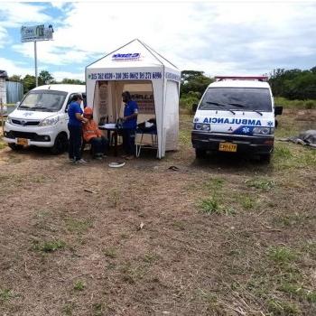 Cubrimiento de Eventos y Areas Seguras 123 Ambulancias Salud con Calidad Ibagué, Colombia